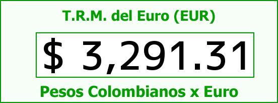 T.R.M. del Euro para hoy Viernes 27 de Noviembre de 2015