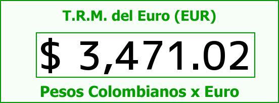 T.R.M. del Euro para hoy Viernes 4 de Marzo de 2016