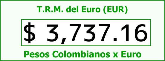T.R.M. del Euro para hoy Viernes 5 de Febrero de 2016