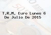 T.R.M. Euro Lunes 6 De Julio De 2015