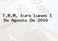T.R.M. Euro Lunes 1 De Agosto De 2016
