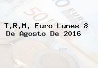 T.R.M. Euro Lunes 8 De Agosto De 2016