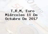 T.R.M. Euro Miércoles 11 De Octubre De 2017