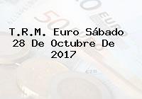 T.R.M. Euro Sábado 28 De Octubre De 2017