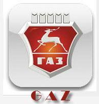 Logotipo de GAZ