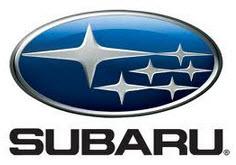Marquilla de Subaru